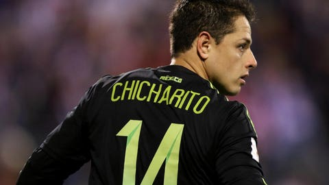"Forward: Javier ""Chicharito"" Hernandez"