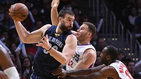 Memphis Grizzlies: 3/9, vs. Los Angeles Clippers