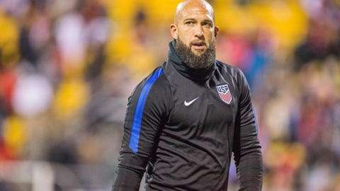 Tim Howard suspended for inappropriate fan interaction