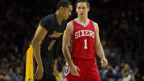 Philadelphia 76ers: 3/12, @ Los Angeles Lakers