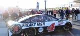 Starting lineup for Folds of Honor QuikTrip 500 at Atlanta