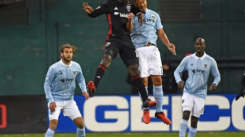 D.C. United was missing Luciano Acosta