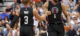 WATCH: Clippers' Paul mixes Plumlee