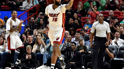 James Johnson, PF, Heat