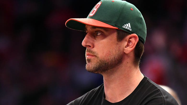 Aaron Rodgers shouts out to Wisconsin after Badgers force OT with miracle 3-pointer