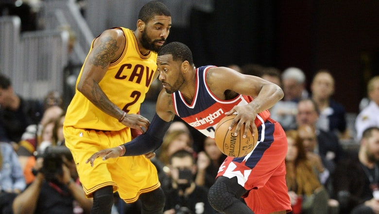Cavaliers run into Wall, fall to Wizards 127-115
