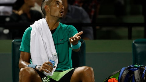 Miami Open: Kyrgios beats Zverev to face Federer in semis