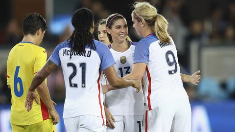 The USWNT should keep experimenting and trying new things
