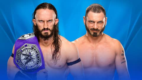 Neville (c) vs. Austin Aries for the WWE Cruiserweight Championship