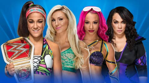 Bayley (c) vs. Charlotte vs. Sasha Banks vs. Nia Jax for the WWE Raw Women's Championship