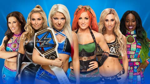 Alexa Bliss (c) vs. all available competitors for the WWE SmackDown Women's Championship