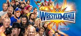 Betting odds for WWE WrestleMania 33