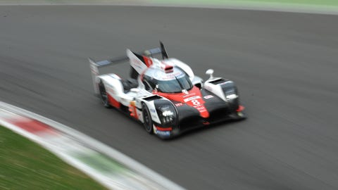 The No. 8 Toyota turned the quickest time during the WEC preseason test at Monza. (Photo: LAT Images)