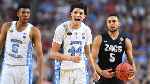 Portland Trail Blazers: Justin Jackson, SF, North Carolina (Junior)