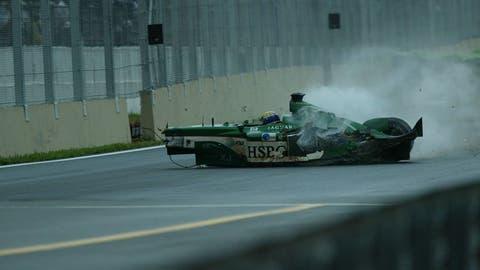 Mark Webber's crash