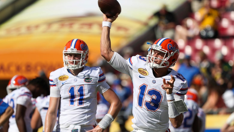 Familiar situation: Franks, Trask competing for Florida's starting QB spot