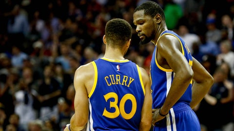 The Warriors are far deeper than the Rockets