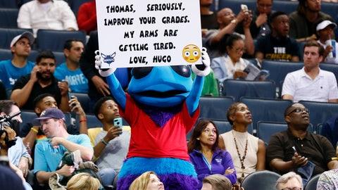 Charlotte Hornets: Hugo the Hornet