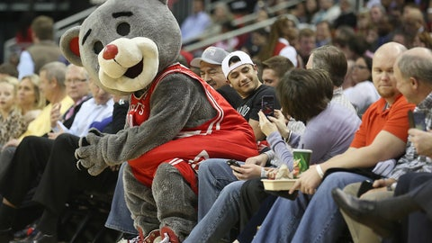 Houston Rockets: Clutch the Bear