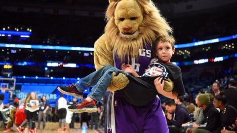 Sacramento Kings: Slamson the Lion