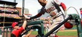 Reds head to Pittsburgh tied for first in NL Central