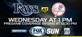 Tampa Bay Rays at New York Yankees game preview