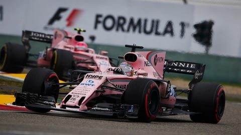 Force India currently sits fifth in the 2017 constructor standings. (Photo: Andy Hone/LAT Images)