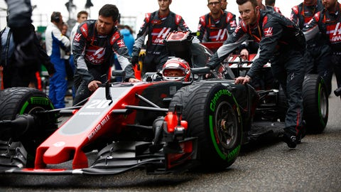 Kevin Magnussen finished eighth place at the Chinese GP. (Photo: Andrew Hone/LAT Images)