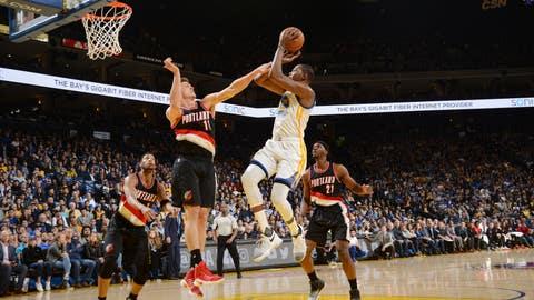 Golden State Warriors vs. Portland Trail Blazers