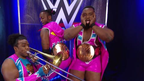 SmackDown: The New Day vs. The Usos