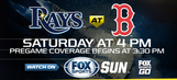 Tampa Bay Ray at Boston Red Sox game preview