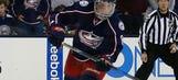 Zach Werenski's intense postgame photo sums up playoff hockey