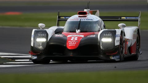 Toyota has won the 2017 FIA WEC season opener. (Photo: LAT Photographic)