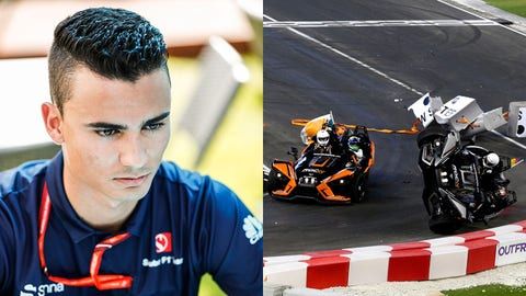 Pascal Wehrlein missed the opening two rounds of the F1 season due to an injury sustained at a Race of Champions crash in January. (Photos: LAT Images)