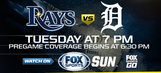 Detroit Tigers at Tampa Bay Rays game preview