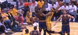 Watch Myles Turner destroy Tristan Thompson with a massive dunk