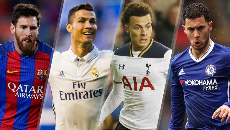 The top 25 most expensive transfer targets in the entire world