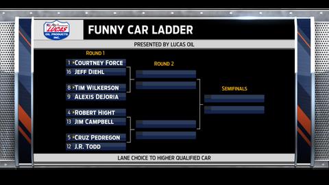 Funny Car - left side