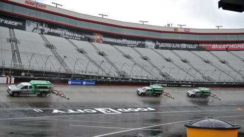 Rain washes out NASCAR race at Bristol until Monday