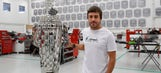 Fernando Alonso visits the Andretti Autosport factory