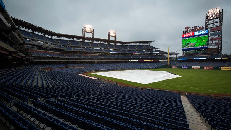 Marlins-Phillies game postponed due to rain, no makeup date announced