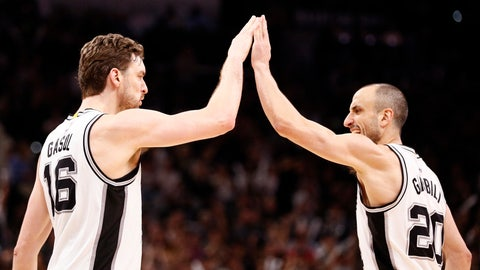 Manu Ginobili saved the Spurs' season