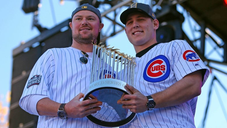 Cubs are bringing their World Series trophy to Fenway Park for a great cause