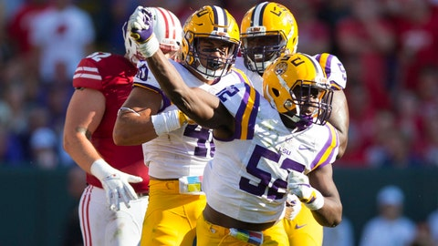 Kendell Beckwith -- LB, LSU (3rd round, 107th overall)