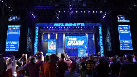 National Football League draft results 2017: Big trades kick off eventful 2nd round