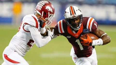 Isaiah Ford -- WR, Virginia Tech (7th round, 237th overall)