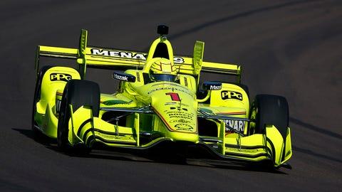 Simon Pagenaud dominated Saturday's IndyCar race at Phoenix Raceway. (Photo: Phillip Abbott/LAT Images)