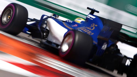 Sauber will be powered by Honda engines in 2018. (Photo: Andrew Hone/LAT Images)
