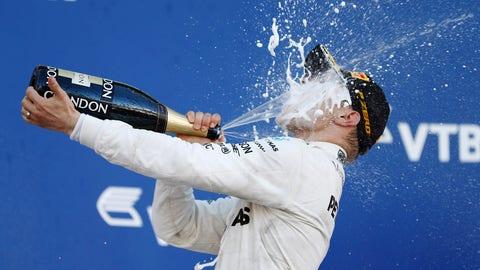 Valtteri Bottas got his maiden F1 win at Sunday's Russian GP. (Photo: Glenn Dunbar/LAT Images)