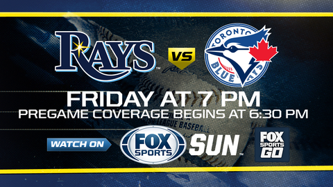 Odorizzi, 2 homers help Rays beat Blue Jays 6-1